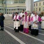 un momento della processione di S. Vitaliano