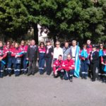 Il gruppo della sezione Anc Arruzzo con l'Unicef Comitato Catanzaro