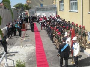 La cerimonia inaugurale