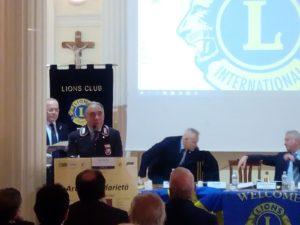 Il vicepresidente Iuliano durante l'intervento